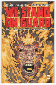 We Stand On Guard #3 Cover Front