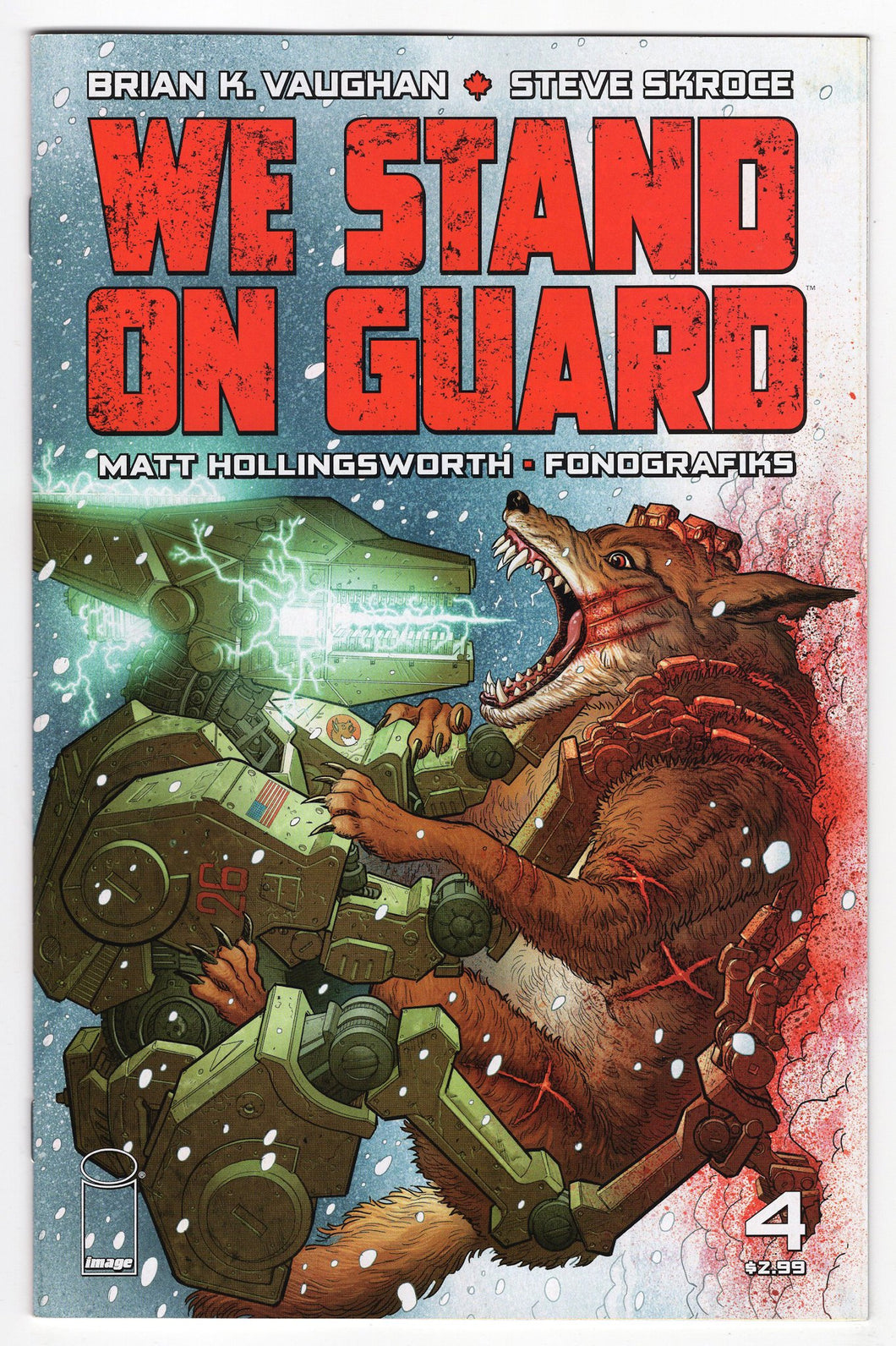 We Stand On Guard #4 Cover Front