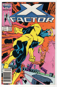 X-Factor #11 Regular Walt Simonson Cover (1986) Front