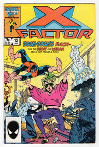 X-Factor #12 Regular Walt Simonson Cover (1987) Front