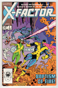 X-Factor #1 Regular Walt Simonson Cover (1986) Front