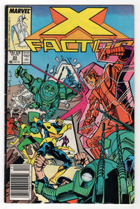 X-Factor #23 Regular Walt Simonson Cover (1987) Front