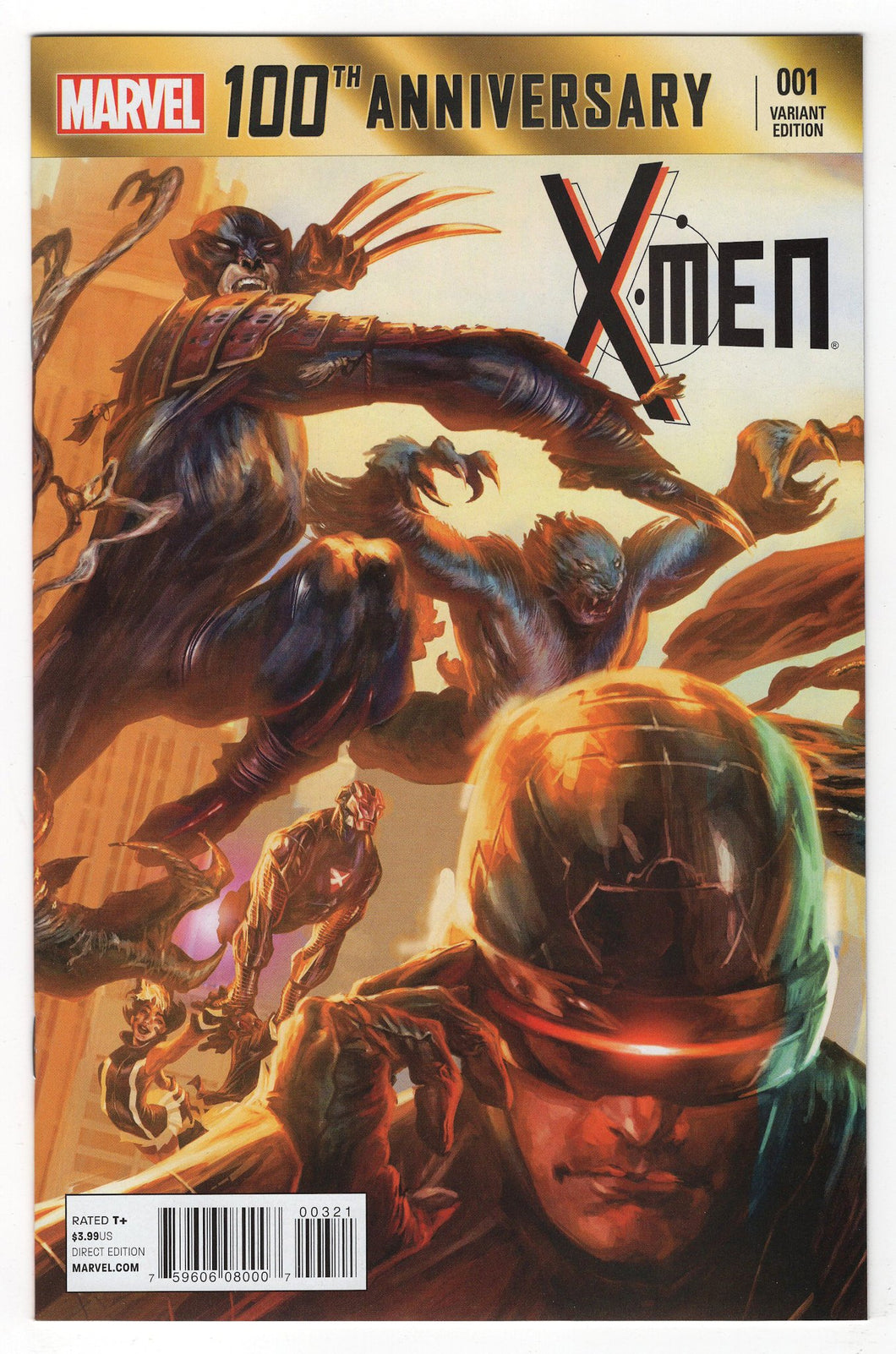 100th Anniversary Special X-Men #1 Variant Cover Front