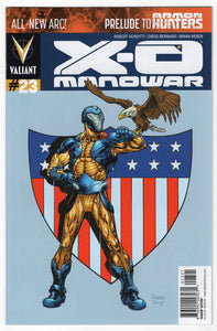 X-O Manowar #23 Variant Cover Front