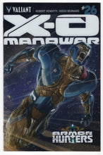 X-O Manowar #26 Variant Cover Front