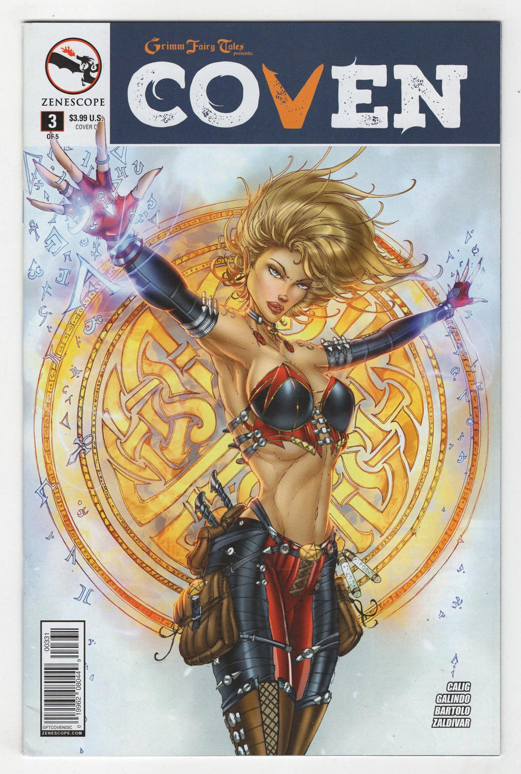 Grimm Fairy Tales Coven #3 Variant Cover Front