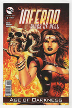 Grimm Fairy Tales Inferno Rings of Hell #3 Variant Cover Front