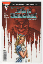Grimm Fairy Tales Alice in Wonderland One Shot Cover Front