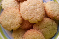 Super Simple Caribbean Coconut Biscuits