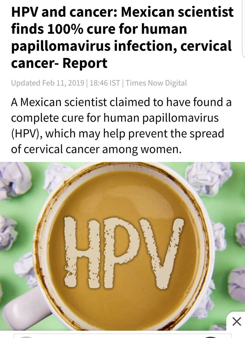 cancer cure for hpv)