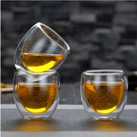 Heat Proof Luxury Glass Tea Cups - Free Shipping