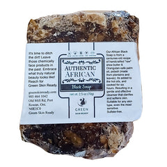 Authentic African Black Soap Bar, Handmade in Africa