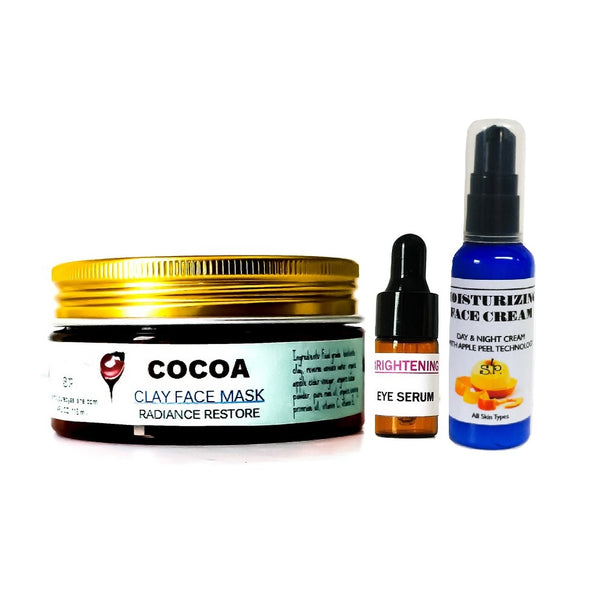 Brightening facial system organic set