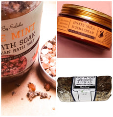Detox Healing Skincare Bath And Honey Gift Set