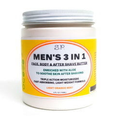 Men's after shave balm and moisturizer 3 in 1