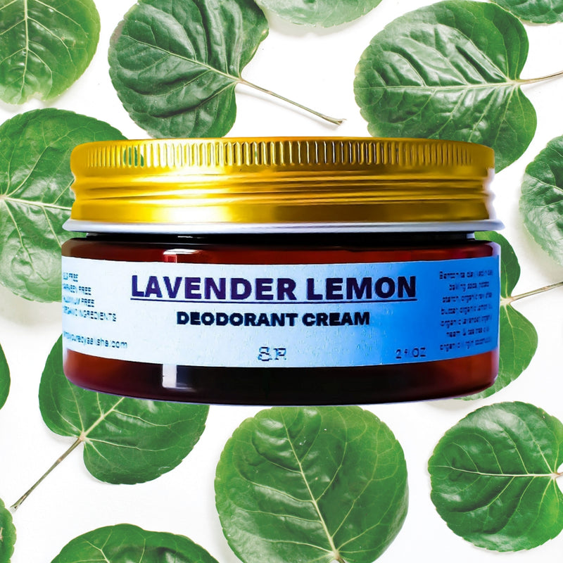 Lavender Lemon Deodorant Cream