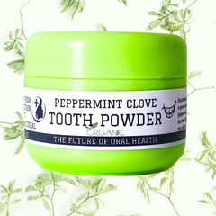 Peppermint Clove Tooth Brushing Powder