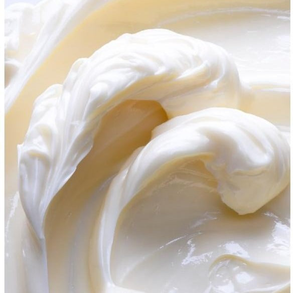 whipped body butter with calming lavender