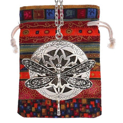 Aromatherapy Essential Oil Diffuser Vintage Necklace With Pad And Carry Pouch Free Shipping