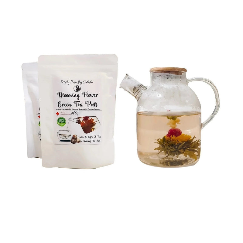 Simply pure blooming tea from Canada