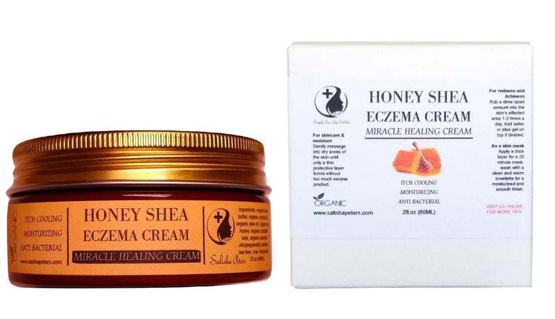 honey shea eczema healing cream