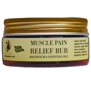 Muscle pain relief rub