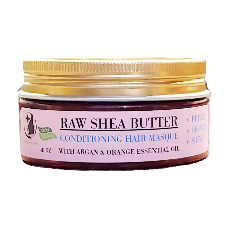 Organic Conditioning Hair Mask With Castor Oil