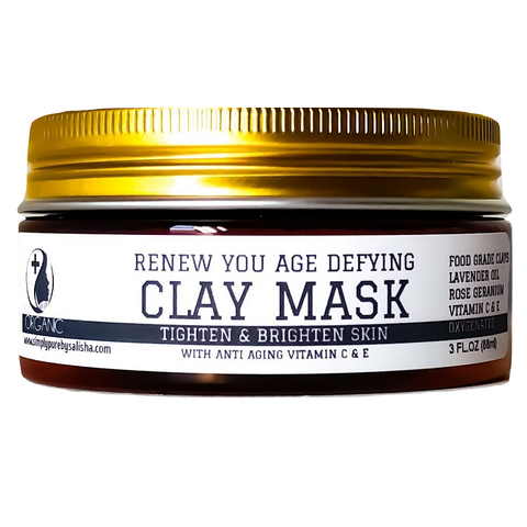 Age Defying Clay Mask With Rose And Vitamin C 3 OZ