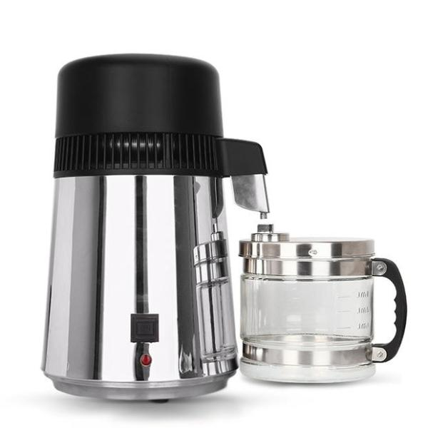 Best-In-Class Stainless Steel Water Distiller with Glass Carafe - Free Shipping