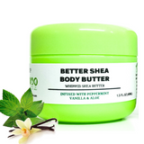 Whipped Shea Butter Infused With Vanilla, Peppermint And Aloe Skin, Lips, Hair