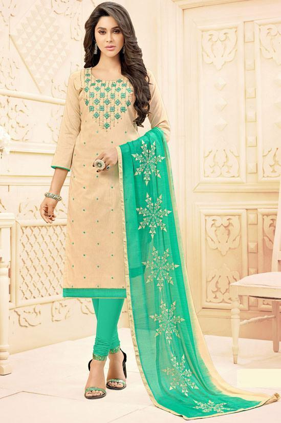Looking For Ready To Wear Cotton Stylish Churidar?