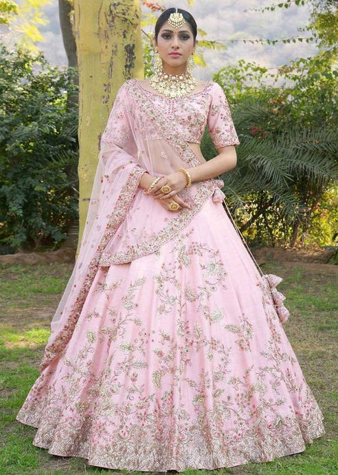 Bridal Exclusive Wedding Lehenga In Crystal Work SF2298IN - Siya Fashions