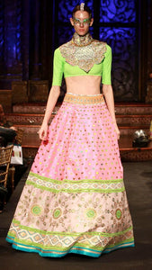 Bollywood Bridesmaid Lehenga Pink Lehenga SFINS4433 - Siya Fashions