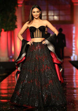 Load image into Gallery viewer, Boobtube Black Cocktail Wedding Prom Skit SF096IN - Siya Fashions