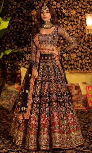 Bridal Indian Pakistani Wedding Haute Couture Style SIYA44INSP
