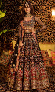Bridal Indian Pakistani Wedding Haute Couture Style SIYA44INSP - Siya Fashions