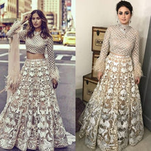 Load image into Gallery viewer, Butterfly Net Wedding Lehenga Heavy Sequin Work SFIN2065 - Siya Fashions