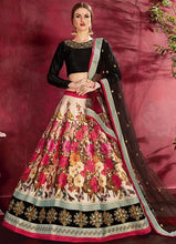 Load image into Gallery viewer, Floral Beige Silk Spring Lehenga SF116YDS - Siya Fashions