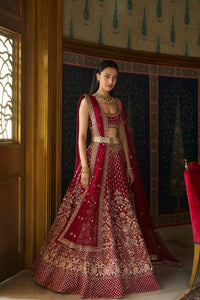 Hot Red Cocktail Party Lehenga Set SIYA311INS - Siya Fashions