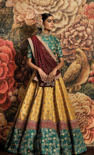 Multi Color Inspired Lehenga Choli SABYA342