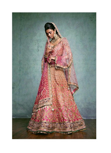 Shop Online Bridal Lehenga Choli In Art Silk SFBRI990 - Siya Fashions
