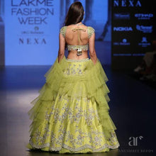 Load image into Gallery viewer, Wedding Cocktail Lehenga In Lime SFINS734 - Siya Fashions