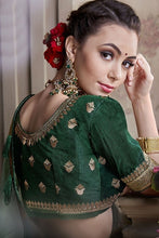 Load image into Gallery viewer, Wedding Saree Green Art Silk Weaving SIYA491YD - Siya Fashions