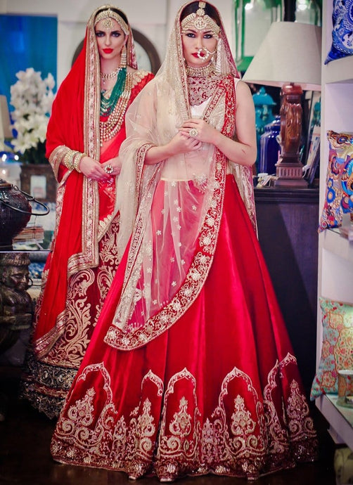 Shop Online Bridal Lehenga Choli In Velvet SF7345 - Siya Fashions