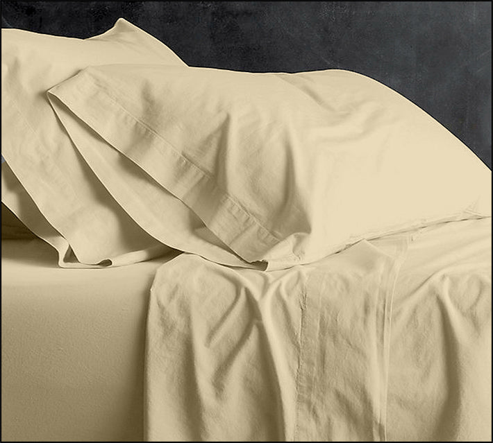 PARK AVENUE VINTAGE STONE KING BED SHEET SET