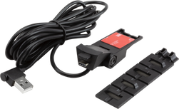 Windshield mount & USB power cable
