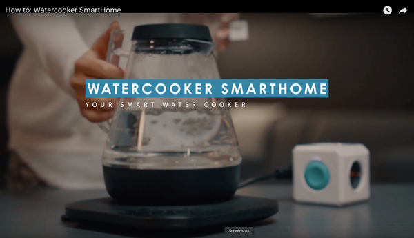 How to: Watercooker SmartHome