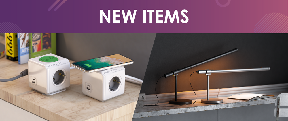 October 2019 New Items: PowerCube WirelessCharger, LightStrip