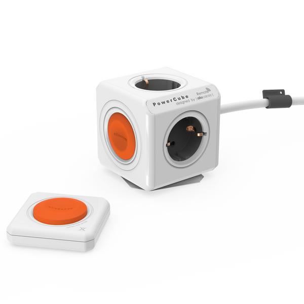 Allocacoc PowerCube® Extended |Remote| SET