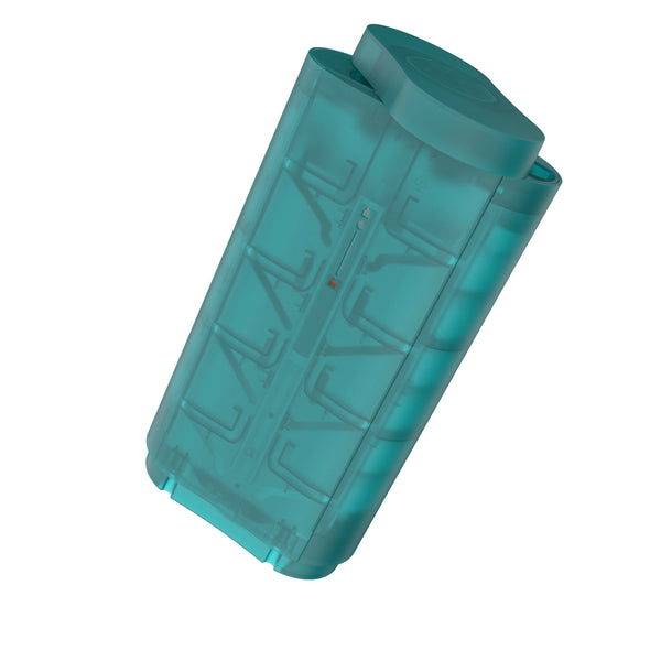 modern BPA free blue 12 ice cubes tray